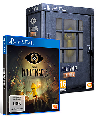 Little Nightmares uncut Cover
