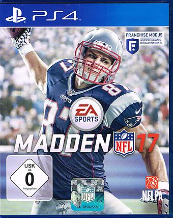 Madden NFL 17 Cover Packshot