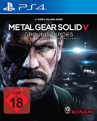 Metal Gear Solid 5: Ground Zeroes Cover Packshot