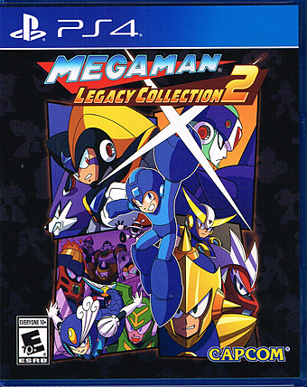 Megaman Legacy Collection 2 Cover