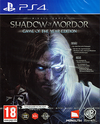 Mittelerde: Mordors Schatten Cover