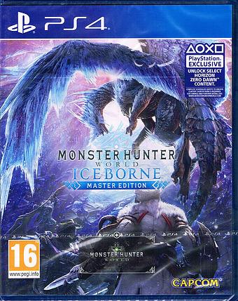 Monster Hunter: World Iceborne Cover