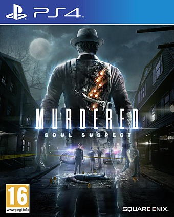 Murdered: Soul Suspect uncut PEGI AT-Version Cover Packshot
