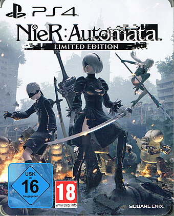 NieR Automata Limited Edition uncut AT-PEGI Cover Packshot