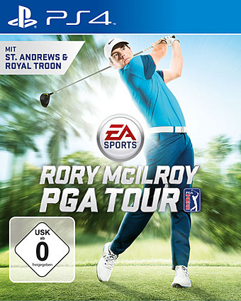 Rory McIlroy PGA Tour Cover Packshot