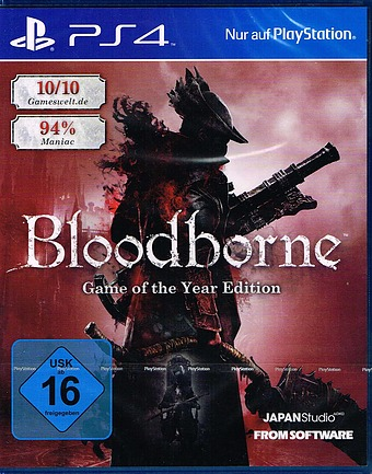 Bloodborne Game of the Year Edition Cover
