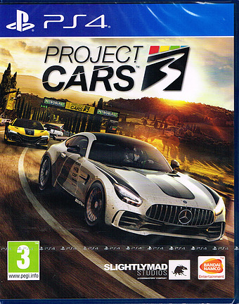 Project Cars 3 Cover