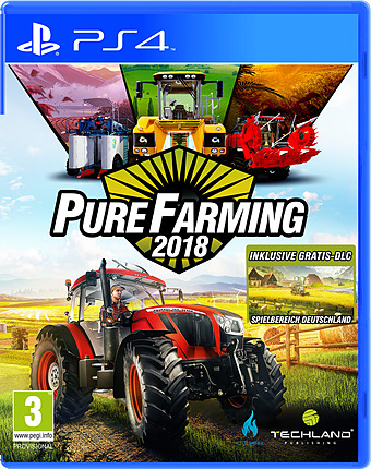 Pure Farming 2018 Cover