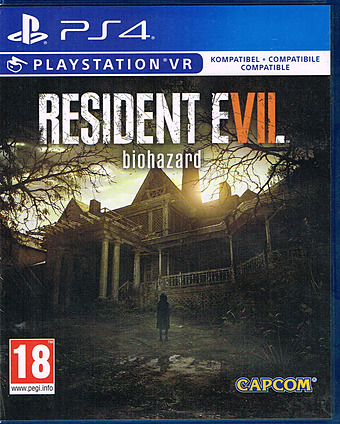 Resident Evil 7 uncut AT-PEGI Cover Packshot