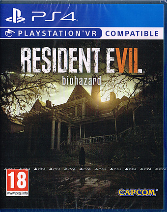 Resident Evil 7 biohazard uncut PEGI Cover