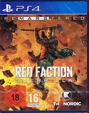 Red Faction Guerilla Cover