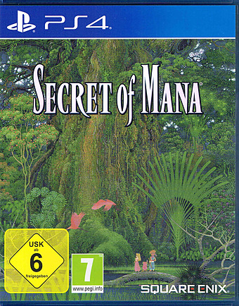 Secret of Mana Remake Cover