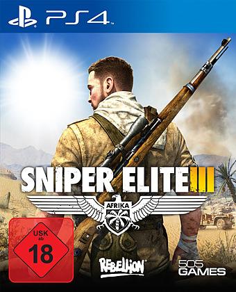 Sniper Elite 3: Afrika Cover Packshot