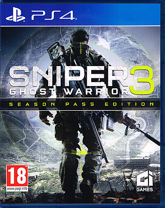 Sniper: Ghost Warrior 3 Limited Edition uncut Cover