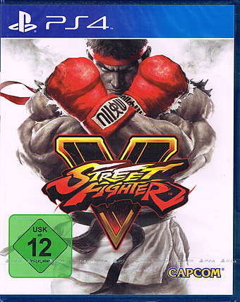 Street Fighter 5 Cover