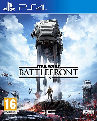 Star Wars: Battlefront D1 Edition AT-PEGI Cover