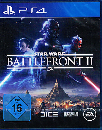 Star Wars: Battlefront II uncut AT-PEGI Cover Packshot