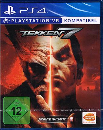 Tekken 7 uncut Cover