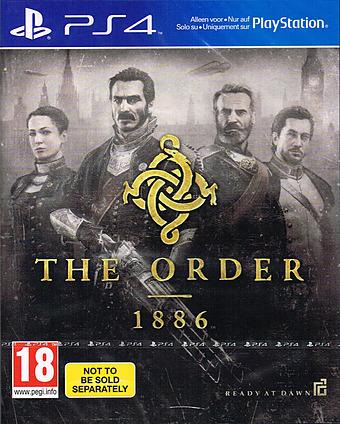 The Order 1886 uncut Cover Packshot