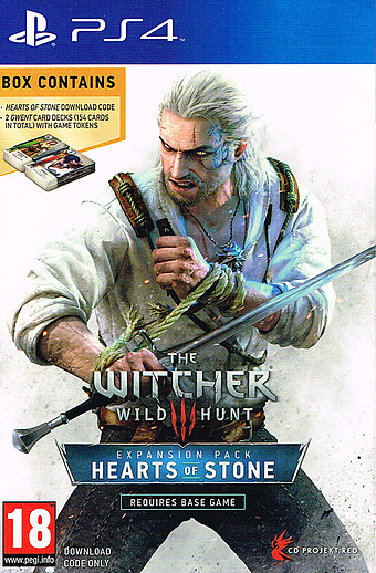 The Witcher 3: Hearts of Stone PEGI Packshot