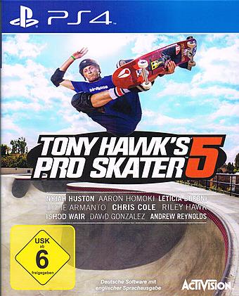 Tony Hawk's Pro Skater 5 Cover