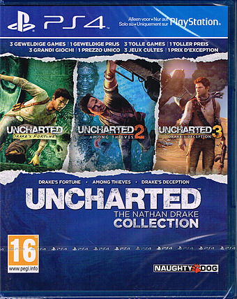 Uncharted: The Nathan Drake Collection Cover