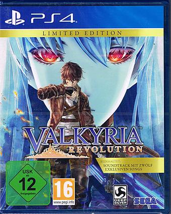 Valkyria Revolution Cover Packshot