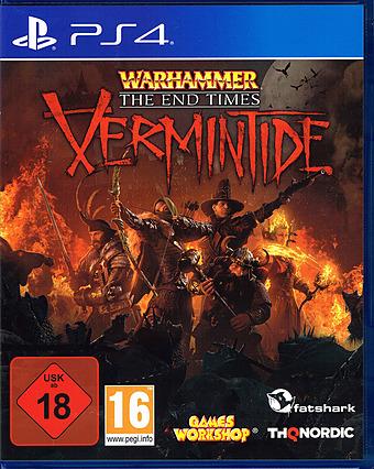 Warhammer: End Times Vermintide Cover Packshot
