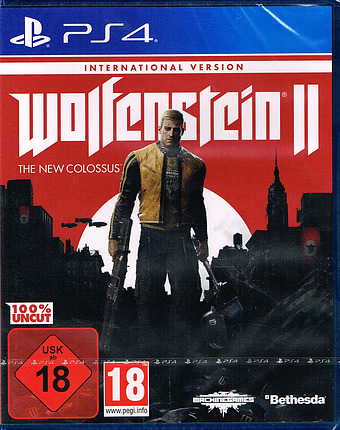 Wolfenstein II: The New Colossus  Cover