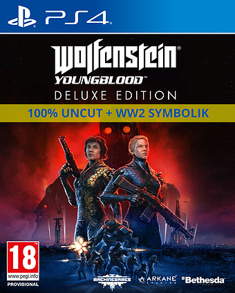 Wolfenstein: Youngblood Cover