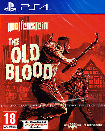 Wolfenstein: The Old Blood uncut PEGI Cover