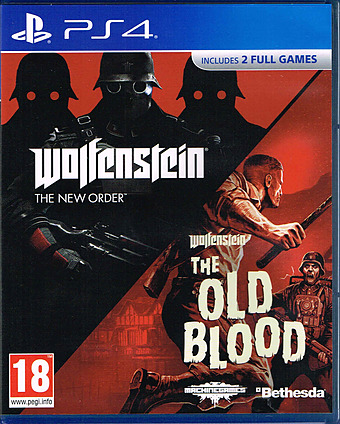Wolfenstein: The Two Pack Cover