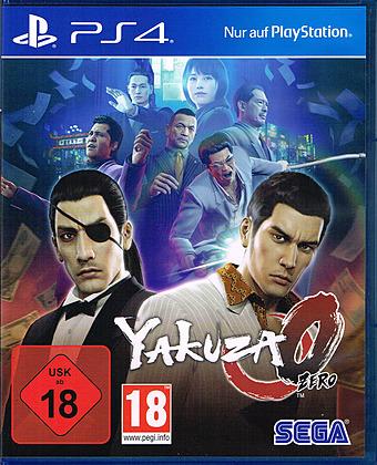 Yakuza Zero Cover