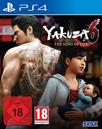 Yakuza 6: The Song of Life Cover
