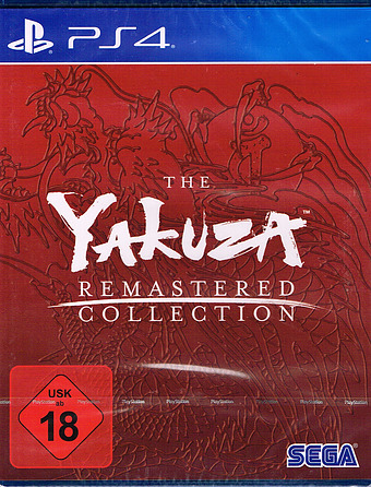 The Yakuza Remastered Collection Cover