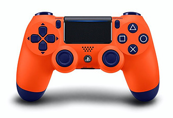 Controller DualShock 4 Sunset Orange V2 Cover