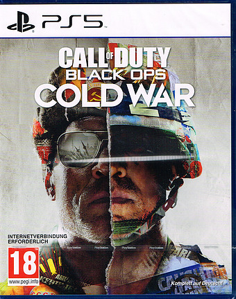 Call of Duty Black Ops: Cold War Cover