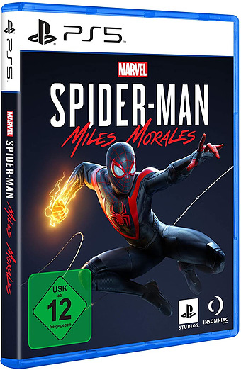 Spider-Man Miles Morales Cover