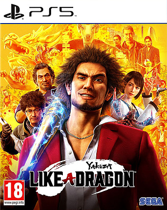 Yakuza 7: Like a Dragon Cover