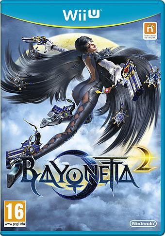 Bayonetta 2 PEGI Packshot
