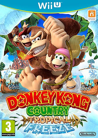 Donkey Kong Country: Tropical Freeze PEGI Cover Packshot