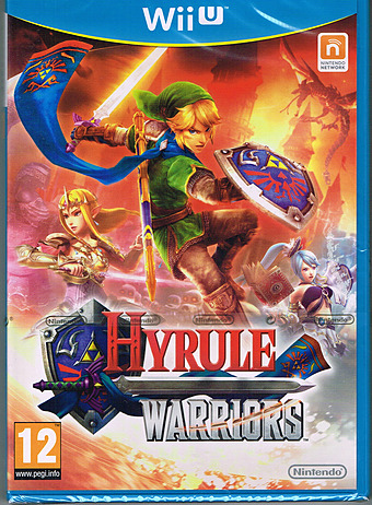 Hyrule Warriors PEGI Packshot
