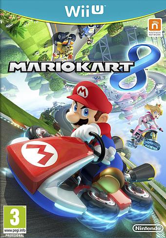 Mario Kart 8 Wii U Cover Packshot