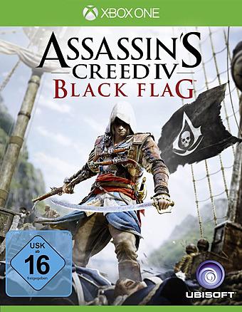 Assassins Creed 4 Black Flag Cover Packshot