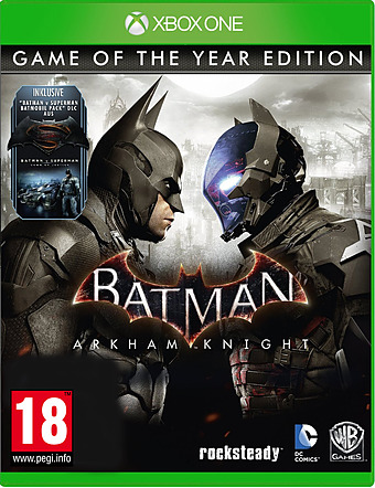 Batman: Arkham Knight uncut AT-PEGI Cover Packshot