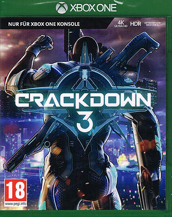 Crackdown 3 uncut AT-PEGI Cover Packshot