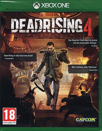 Dead Rising 4 Uncut indiziert Cover Packshot