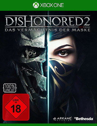 Dishonored 2 uncut AT-PEGI Cover