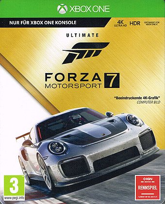 Forza Motorsport 7 Cover Packshot