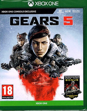 Gears of War 5 uncut AT-PEGI Cover Packshot